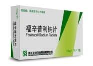Fosinopril Sodium Tablets