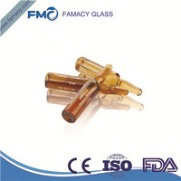 5ml/5R clear/amber formB/C glass ampoule type 1 glass HC1