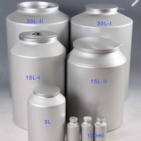 Pharmaceutical API powder packaging aluminum bottles