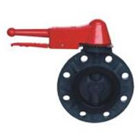 D(3)71X-10 FRPP Butterfly valve