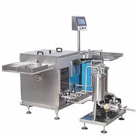 CZX Series - Rolling Drum Ultrasonic Bottle Rinsing Machine