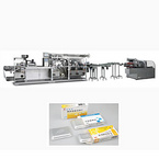 DPB270/360JL-ZHJ150 Cantilever Style Flat-plate Blister Packing And Automatic Cartoning production