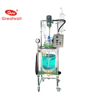 50L Double-layer Glass Reaction Kettle