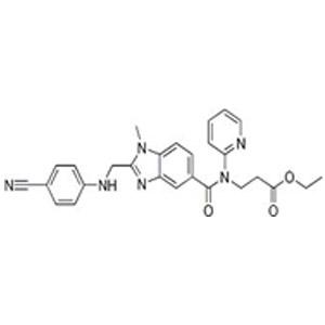 3-[[[2-[[(4-Cyanophenyl)amino]methyl]-1-methyl-1H-benzimidazol-5-yl]carbonyl]pyridin-2-ylamino]propi