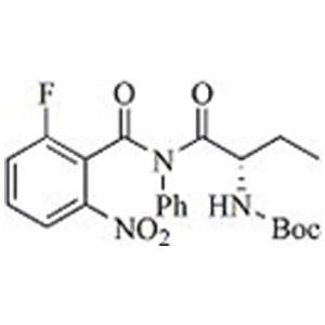 (S)-tert-Butyl (1-(2-fluoro-6-nitro-N-phenylbenzamido)-1-oxobutan-2-yl)carbamate