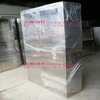 Stainless steel appliance cabinet