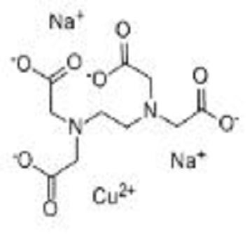 Sodium copper tetraacetate ethylenediamine