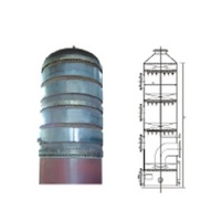 Exhaust gas absorption tower