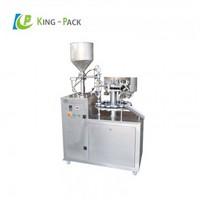 Unguent cream tube filling sealing machine