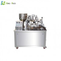 Semi automatic plastic tube filling and sealing machine