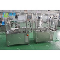 Medical liquid filling and capping machine