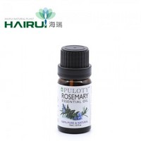 Oil Massage Use Green Herb Oil Rosemary