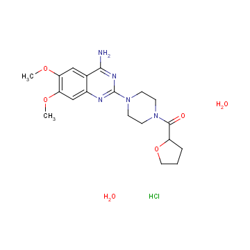 Terazosin HCL Anhydrous