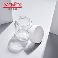Hot sale 70ml 90ml 110ml Childproof Empty Glass Weed Container -Maypak