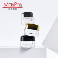 Custom 5g 9g Child Resistant Cap Glass Mini Weed Jar -Maypak