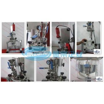 Mlr Small Glass Multifunctional Laboratory Vacuum Emulsifying Mixer Reactor