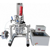 Mlr Small Glass Multifunctional Laboratory Vacuum Emulsifying Mixer Reactor