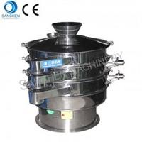 Ultrasonic vibrating sieve for pharmacy