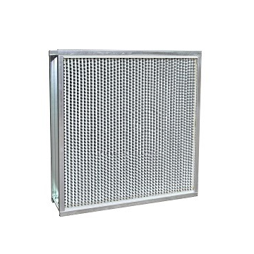 FL series with separator high efficiency filter (aluminum separator)