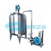 pre mixing vessel sugar dissolve vessel buffer tank
