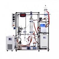 Glass Wiped Film Molecular Distillation Unit