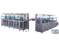 DPP250K/WZH-180 Medicine Packing Automatic Production line labelling machine